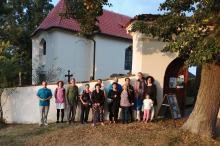 Pouť na Tetín 2021 - kostel sv. Jana Nepomuckého